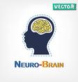 Brain Neurological symbol vector image