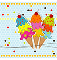 greeting card scrapbook vector image vector image