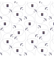 Plane pattern vector image