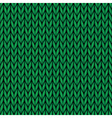 handmade seamless knitted wool pattern vector image