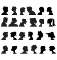 Profiles vector image