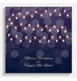 Abstract Beauty Merry Christmas and New Year vector image vector image