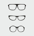 Glasses set vector image vector image