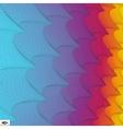 Wavy Grid Background Mosaic vector image