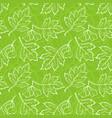 hawthorn leaves seamless vector image