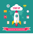 Start-Up Creative - Icons Set vector image