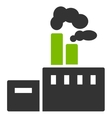 Factory Icon from Commerce Set vector image