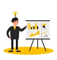 business people presentation vector image
