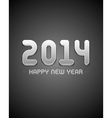 Happy new year 2014 design vector image