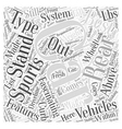 SC best sports car Word Cloud Concept vector image