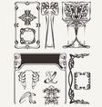 Set Of Art Deco Elements vector image vector image