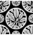 seamless tree pattern 03 vector image
