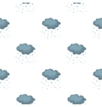 Rain icon in cartoon style isolated on white vector image