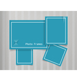 Photo Frames Design Background vector image