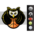 Owl Mascot vector image vector image