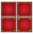 chinese frame vector image