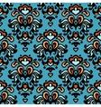 Flower pattern seamless paisley design vector image