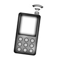 phone sign icon vector image