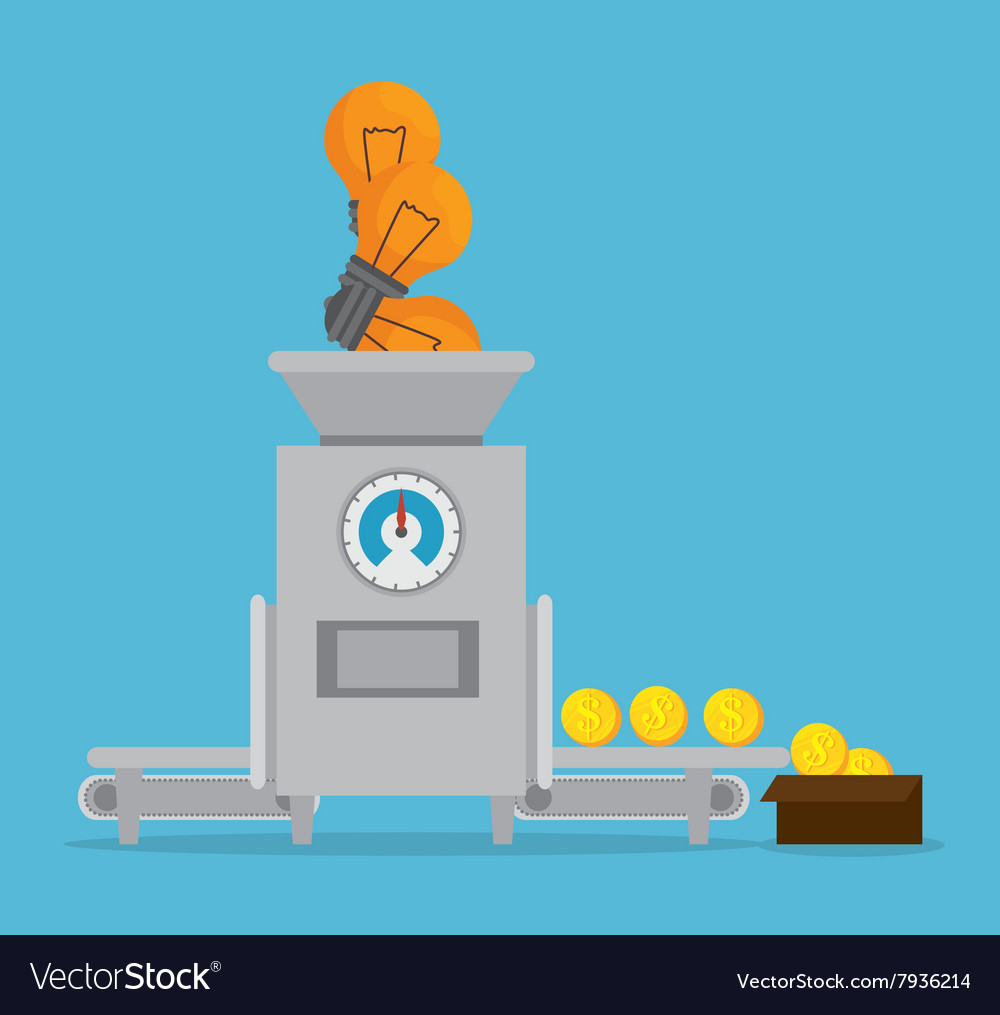 Money concept design vector
