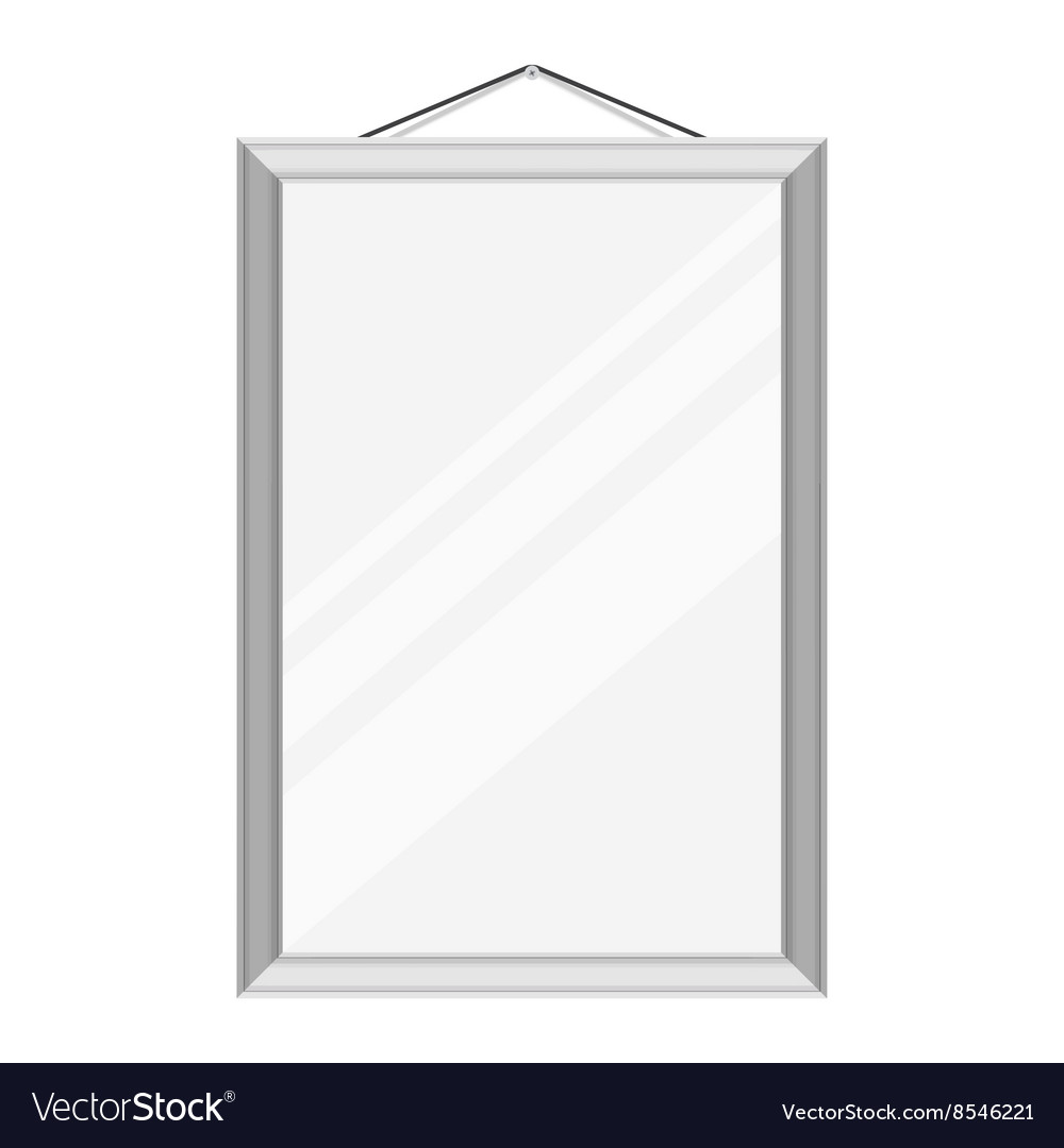Mirror on the wall vector