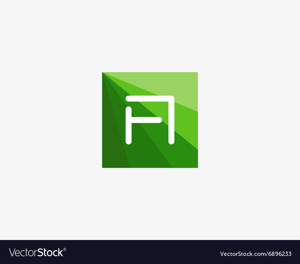 Abstract letter a logo design template vector