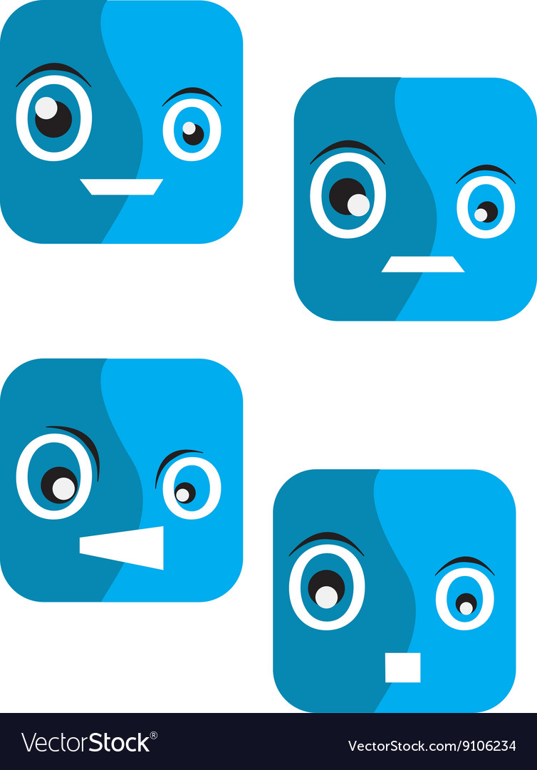 Emotion box vector