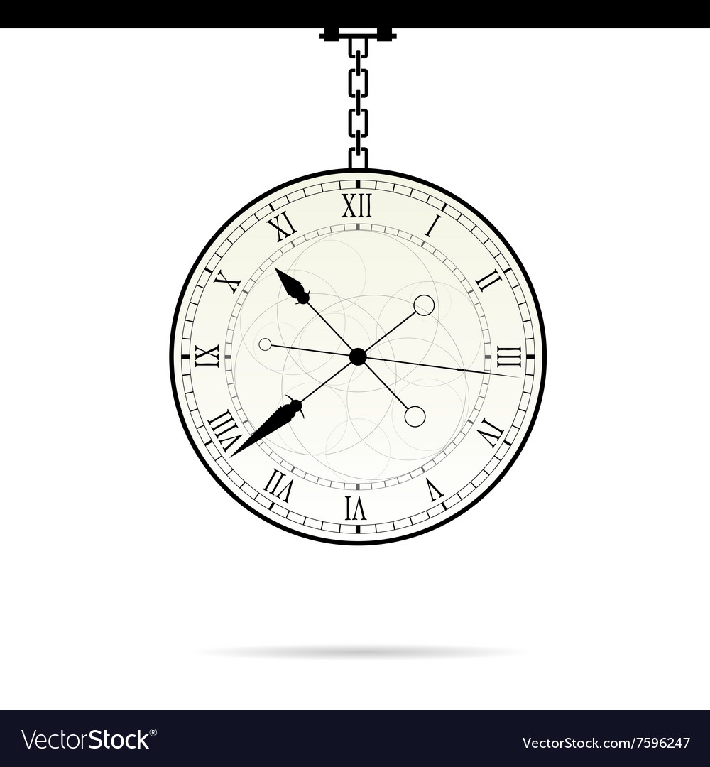 Clock on chain vector