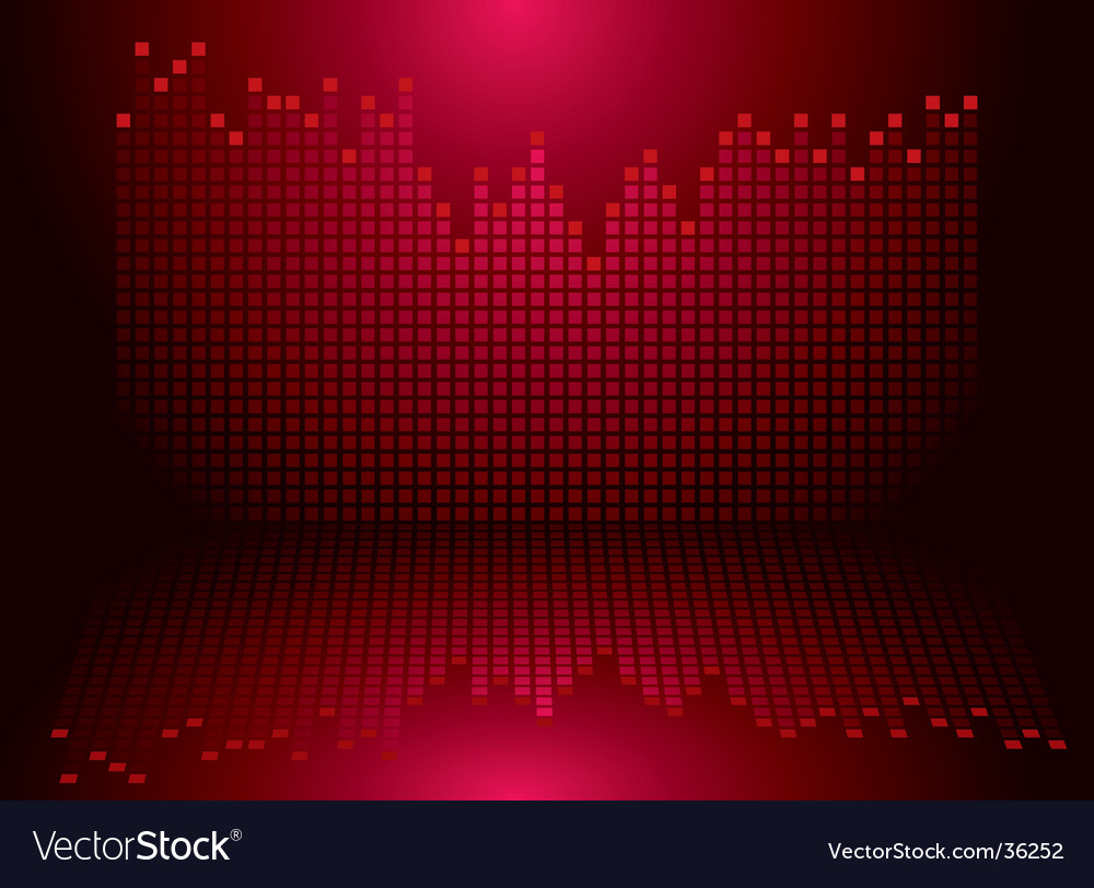 Graphics red vector