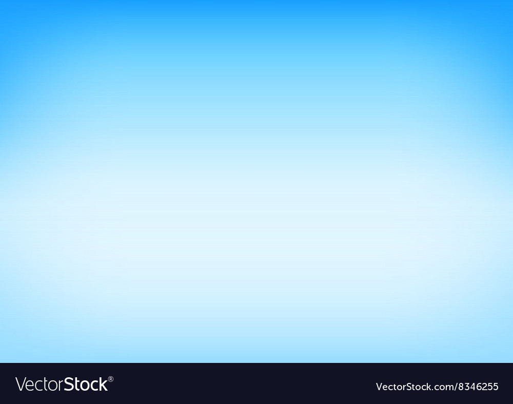 Blue sky gradient background vector