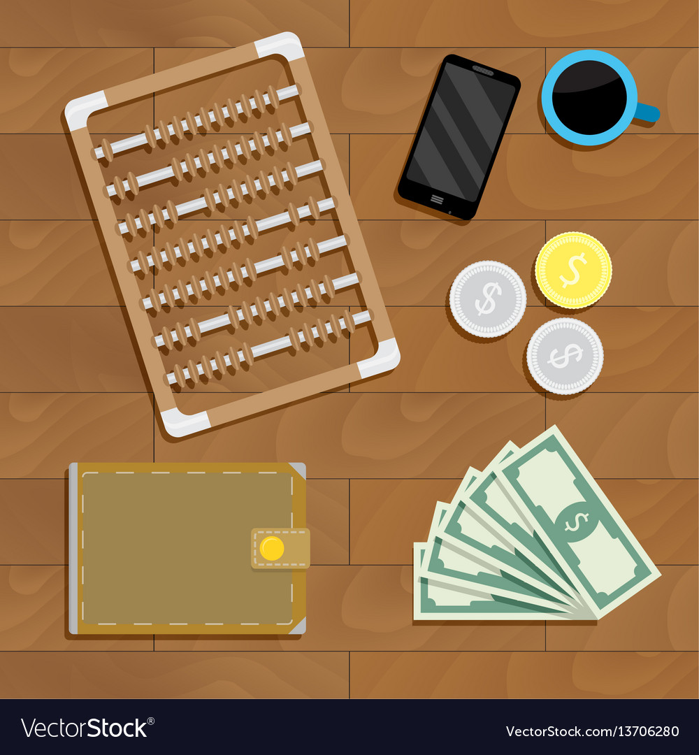 Business financial account vector