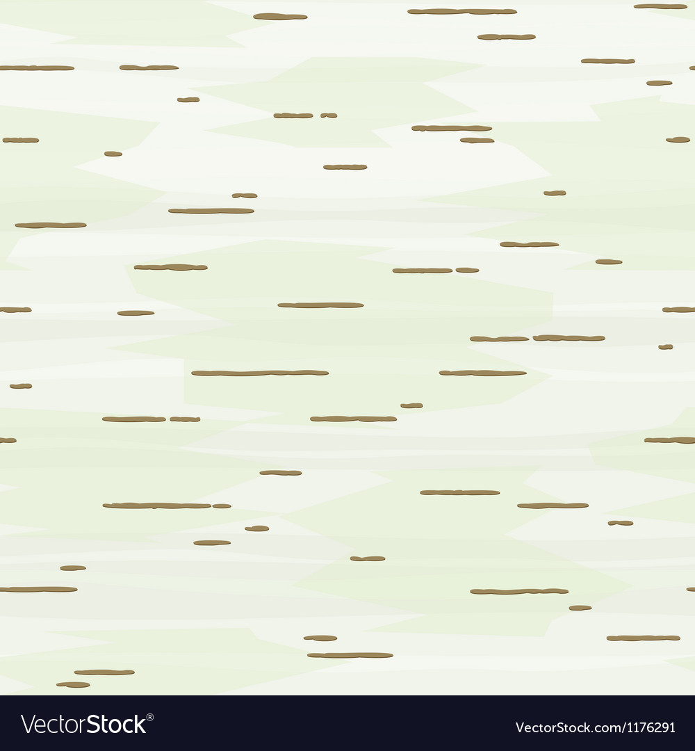 Birch bark seamless pattern vector