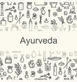ayurvedic supplies - poster vector image