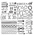 from the hand-drawn labels vector image