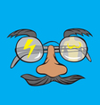 Eyeglass vector image