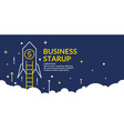 for business startup with a vector image