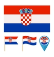 Croatia country flag vector image