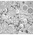 Seamless ornamental full frame background vector image