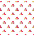 apples pattern seamless vector image