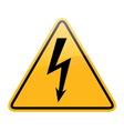 high voltage vector image vector image