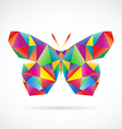 Butterfly abstract vector image