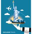 Exclusive New York vector image vector image