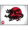 Asian traditional dragon vector image