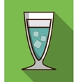 Drink design Cocktail icon Style glass vector image