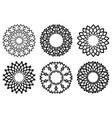 abstract ring symbol vector image