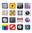 apps icon set two vector image
