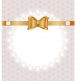 lace napkin vector image