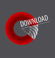 logo round diagram for download vector image
