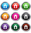 toy house set 9 collection vector image