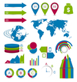 Set detail infographic elements vector image