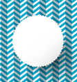 Retro Blue Paper Background with Circle Label vector image